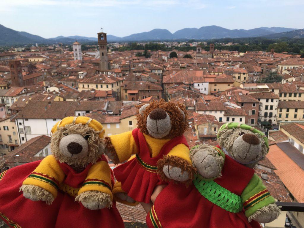 Middeleeuwse kleding uit Toscane